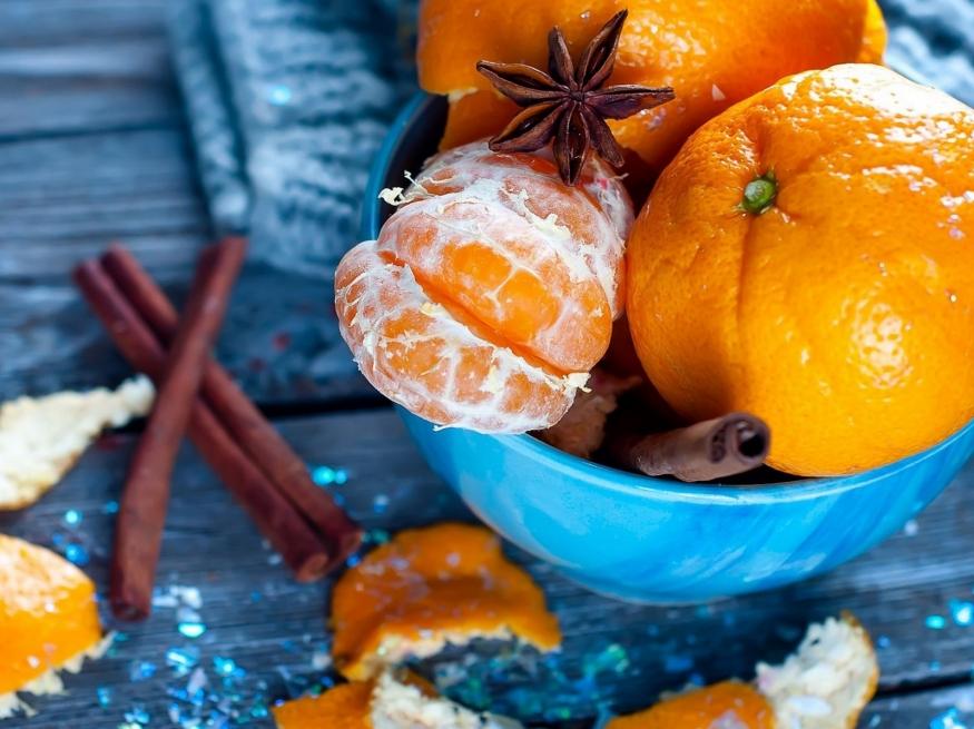 Апельсины мандарины