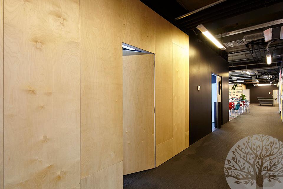 Скрытые двери для офисов