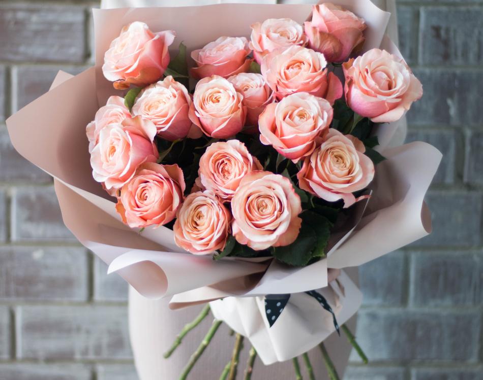 Букет красивых роз