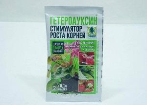 как применять Гетероауксин для растений