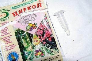 правила применения препарата Циркон для растений
