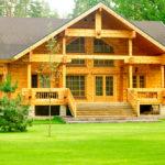 Строительство домов из бруса, положительные стороны