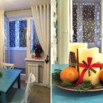 Украшение дома на Новый год 2021