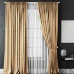 Как выбрать и повесить шторы в доме