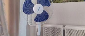 Вентилятор для квартиры