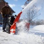 MTD – снегоуборочная техника для загородного участка, парка и не только